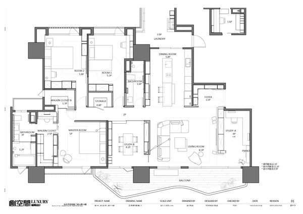 Asian House Plan 43