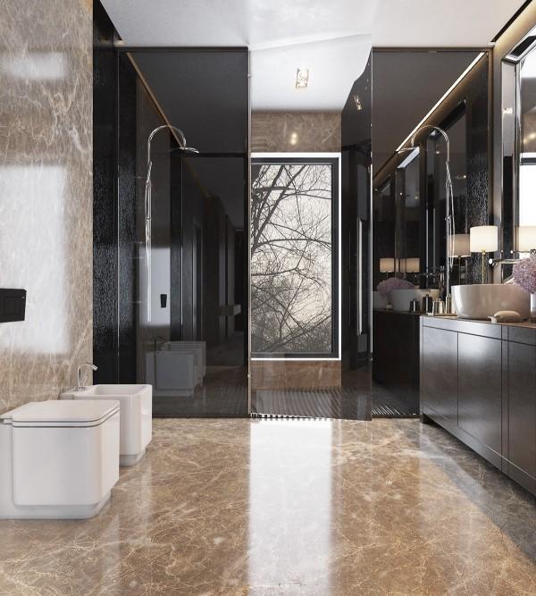 Luxury Bathroom Interior Design: Interior Design Ideas