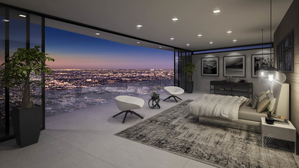 luxury bedroom with amazing view interior design ideas. Black Bedroom Furniture Sets. Home Design Ideas