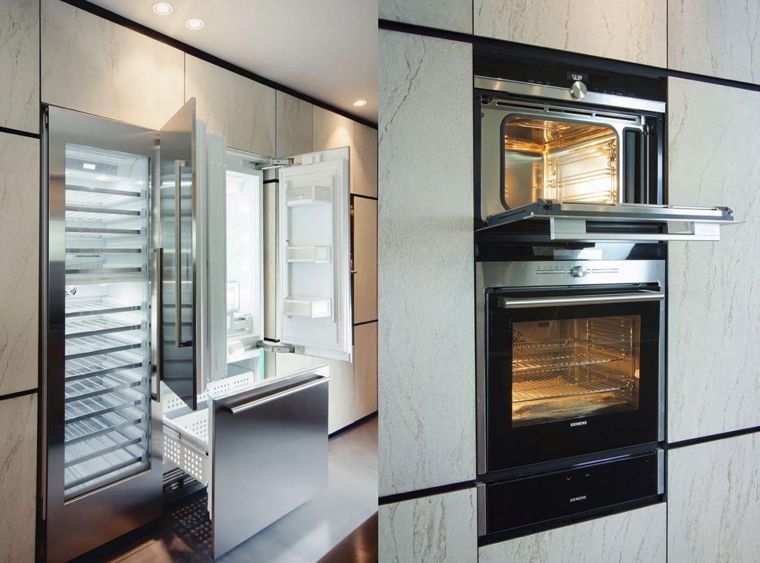 Luxury Kitchen Appliances Interior Design Ideas
