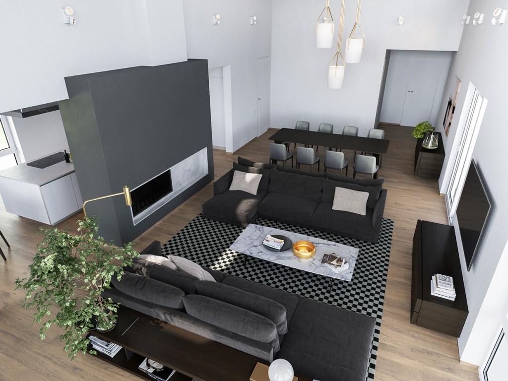 Home Office Interior Design Color Palettes