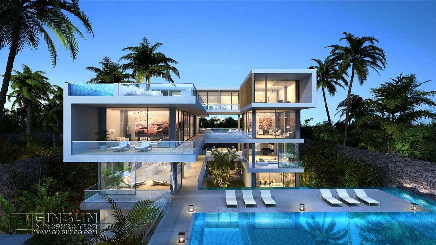U shaped architecture