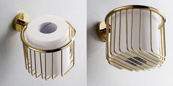 It Very Minimalistic This Br Toilet Paper Holder