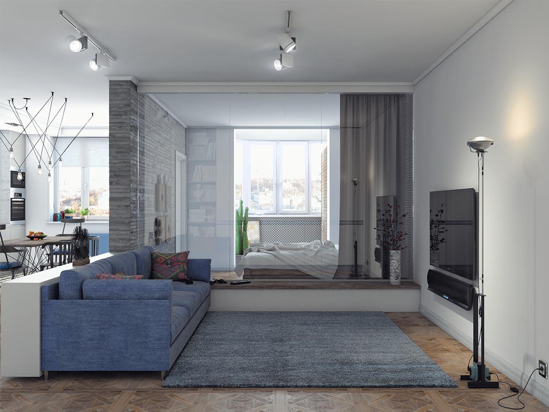 1240 930, Blue And Gray Living Room Jpg, Decor ˆ ˆԄ, A Hi