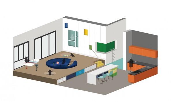 LEGO Play Pond The Ultimate LEGO Themed House – Lego House Floor Plan