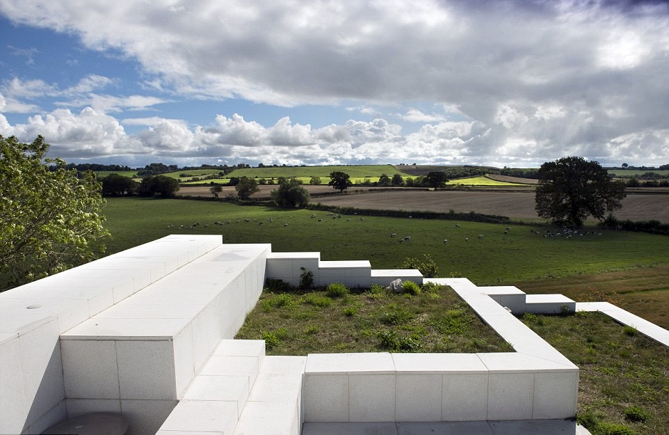 Wedge shaped house is britains house of the year