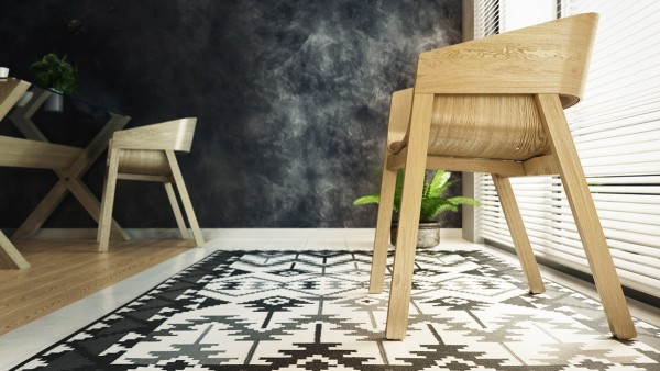 scandinavian inspired modern studio apartment 600x338 - 5 Small Studio Apartments With Beautiful Design
