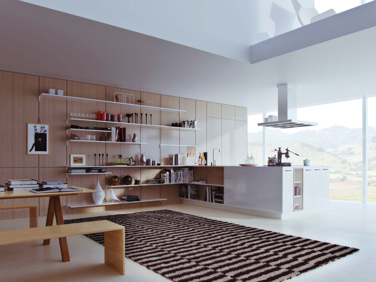 25 white and wood kitchen ideas. Black Bedroom Furniture Sets. Home Design Ideas