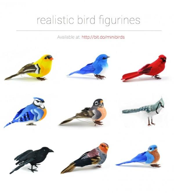 Beautiful Bird Figurines