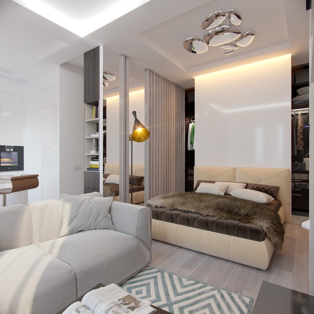 Apartment Blue Book: 4 Inspiring Home Designs Under 300 Square Feet (With Floor