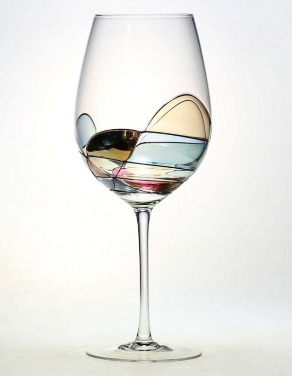 Decorated Wine Glasses Gifts