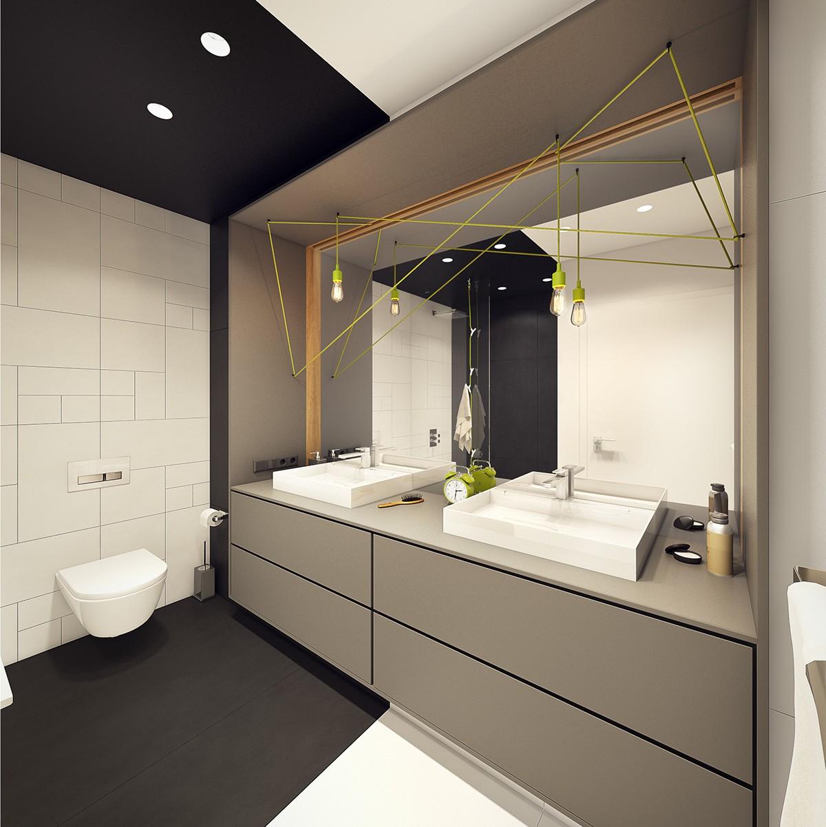Scandinavian Bathroom Design Ideas: A Modern Scandinavian Inspired Apartment With Ingenius