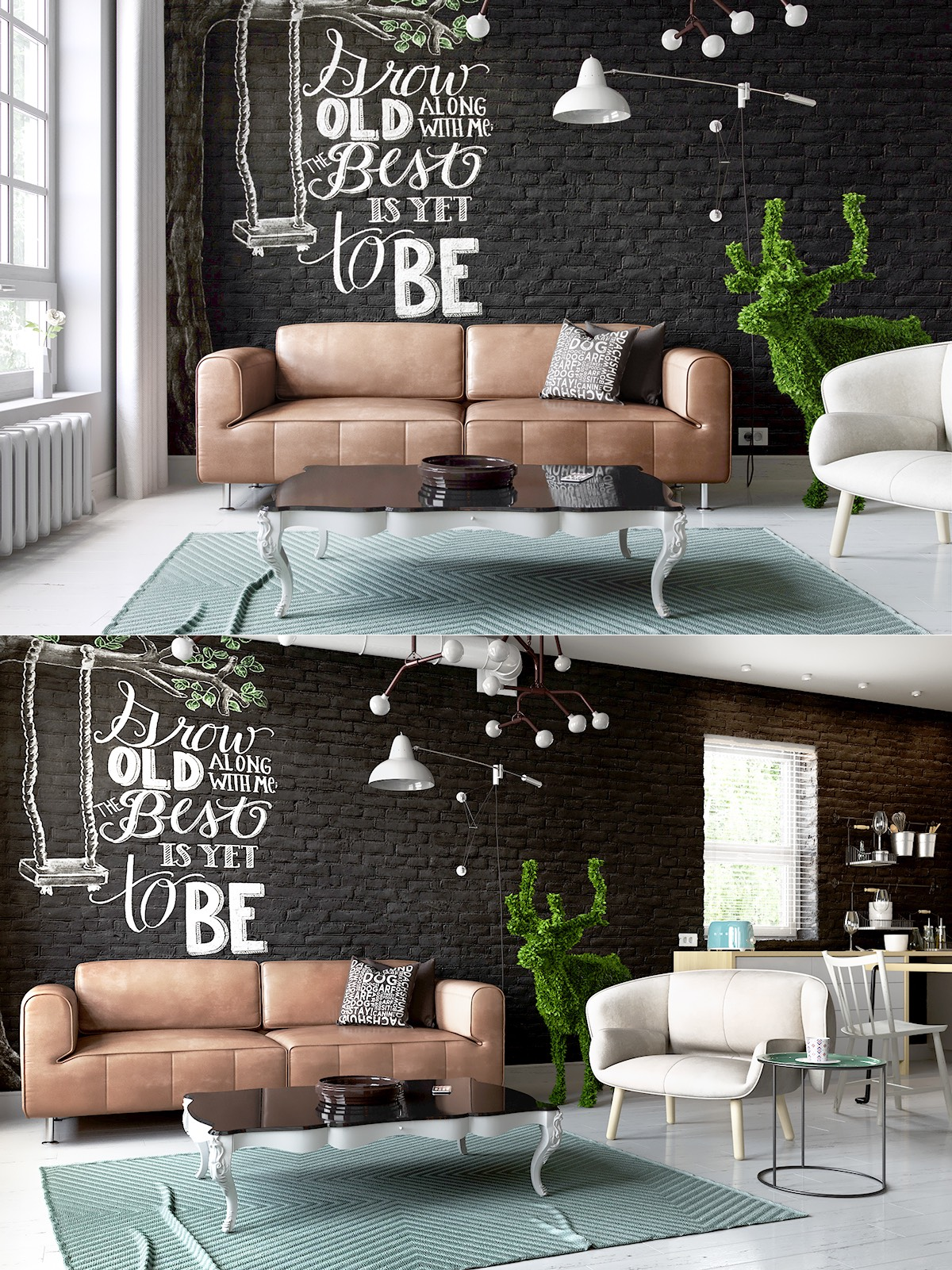 Black Living Rooms Ideas Inspiration