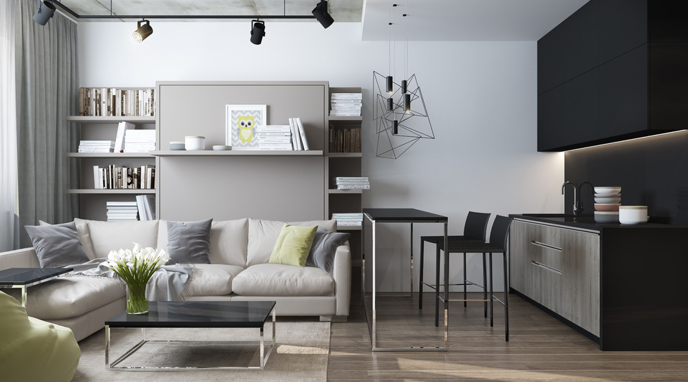 Rooms: 6 Beautiful Home Designs Under 30 Square Meters [With