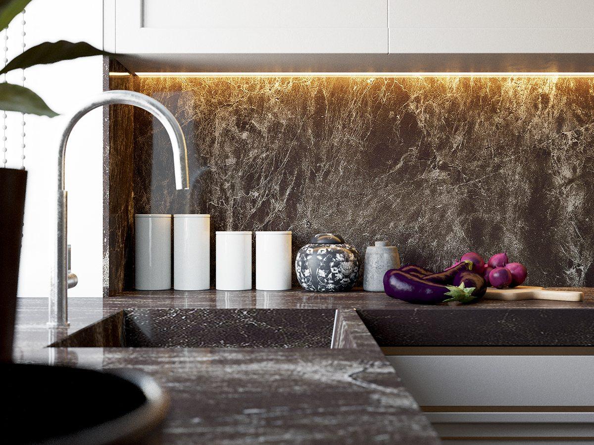 Ongebruikt 2 Beautiful Home Interiors In Art Deco Style QY-85
