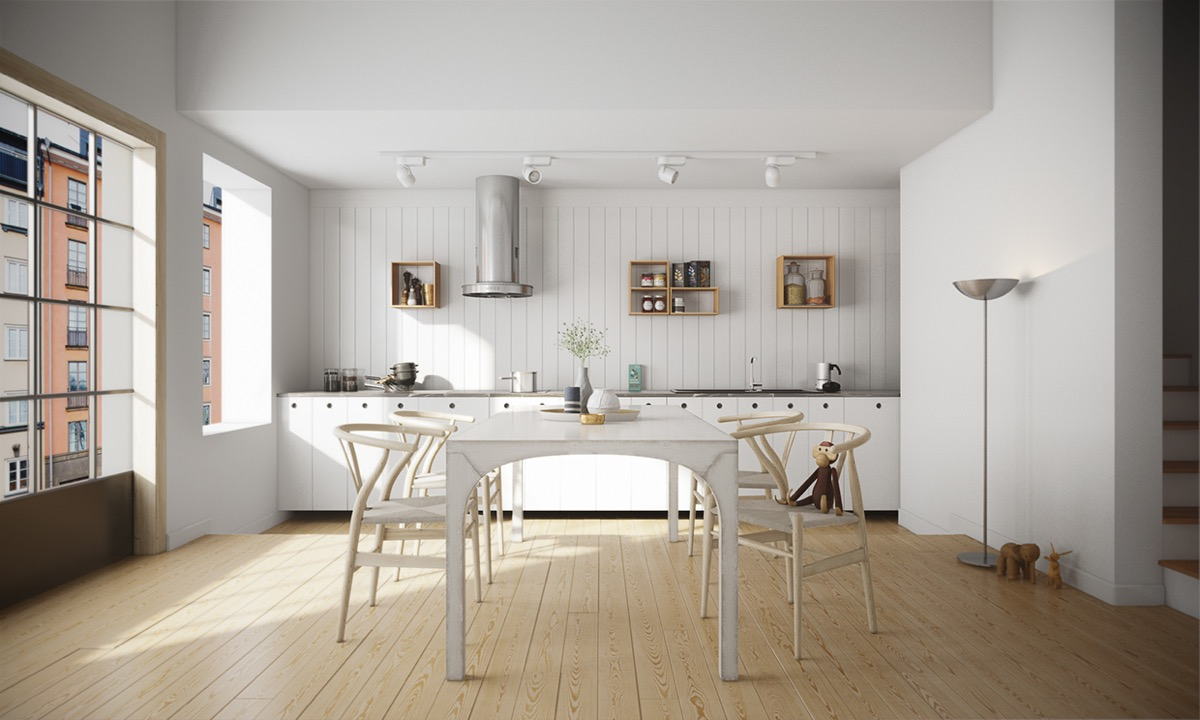 32 More Stunning Scandinavian Dining Rooms
