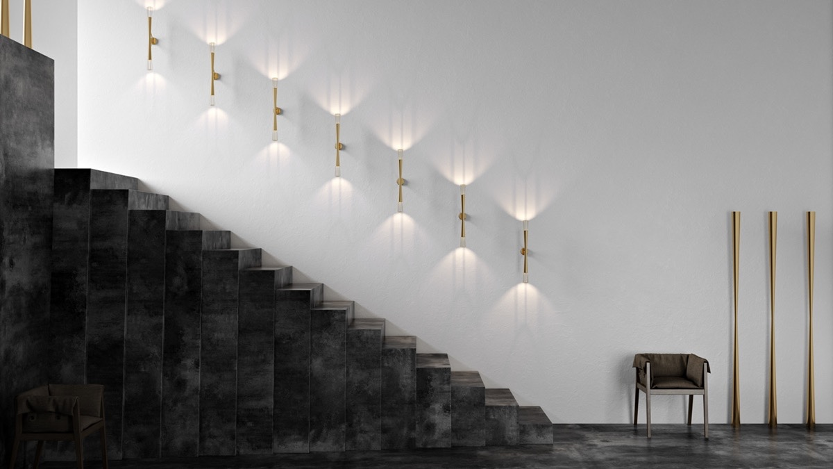 25 Benefits Pf Stair Lights Outdoor: 25 Unique Staircase Designs To Take Center Stage In Your Home