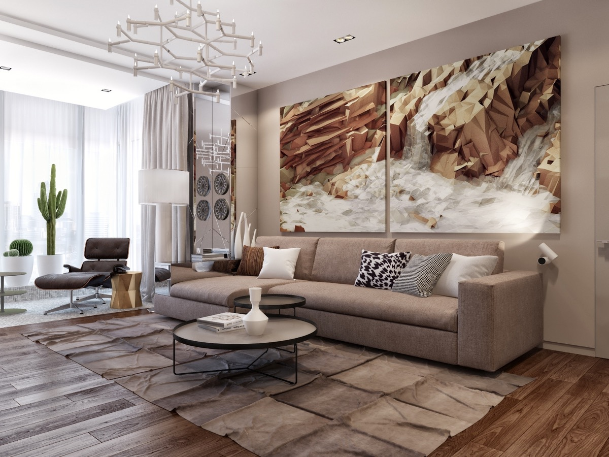Oversized Artwork Interior Design