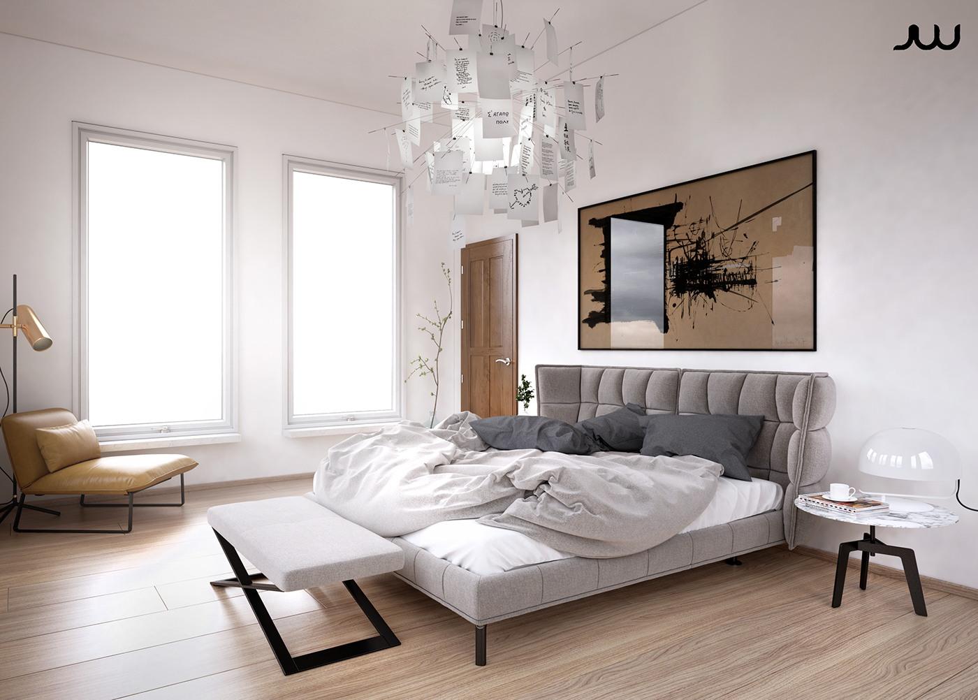 ultra luxury apartment design. Black Bedroom Furniture Sets. Home Design Ideas