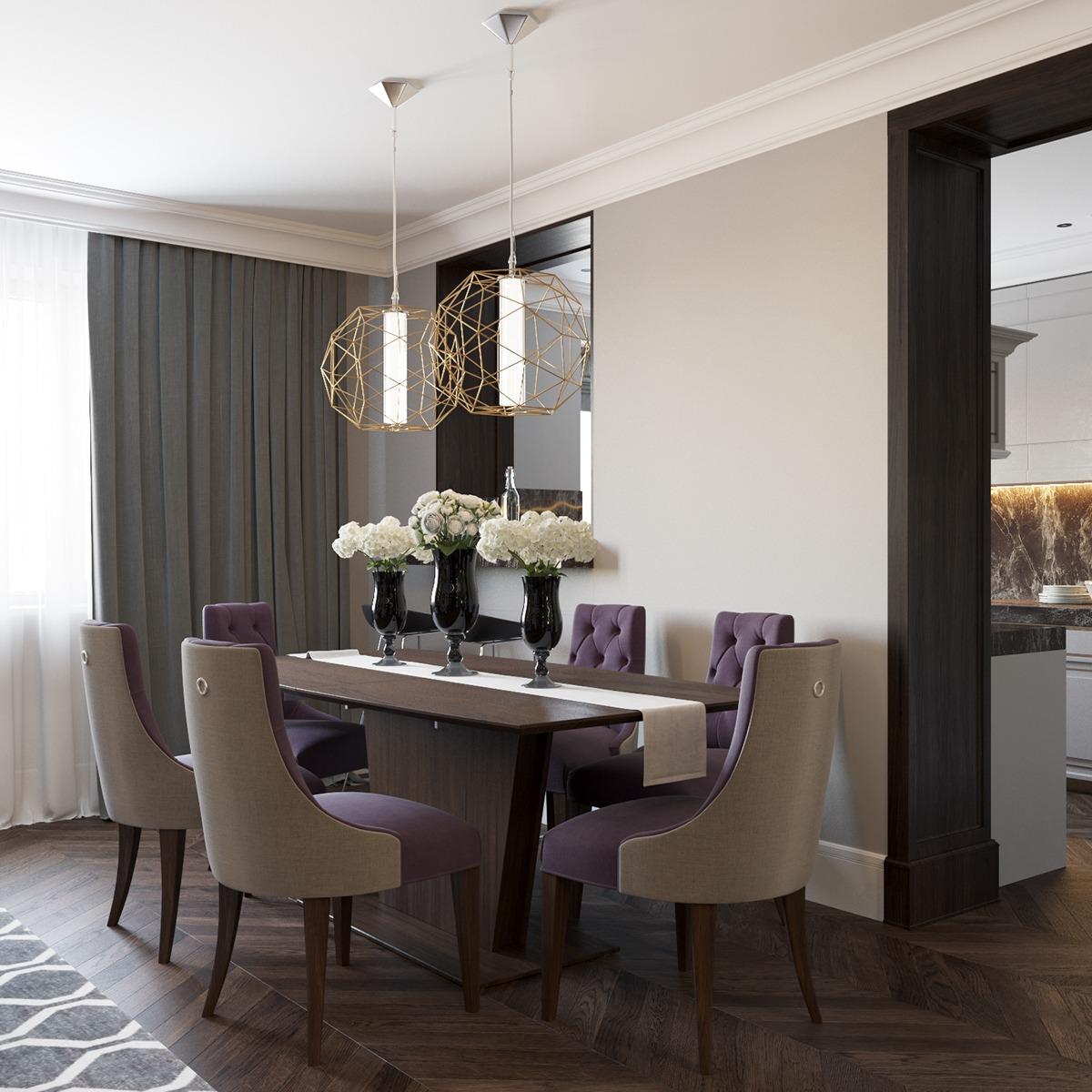 Art Deco Interior Designs And Furniture Ideas: 2 Beautiful Home Interiors In Art Deco Style