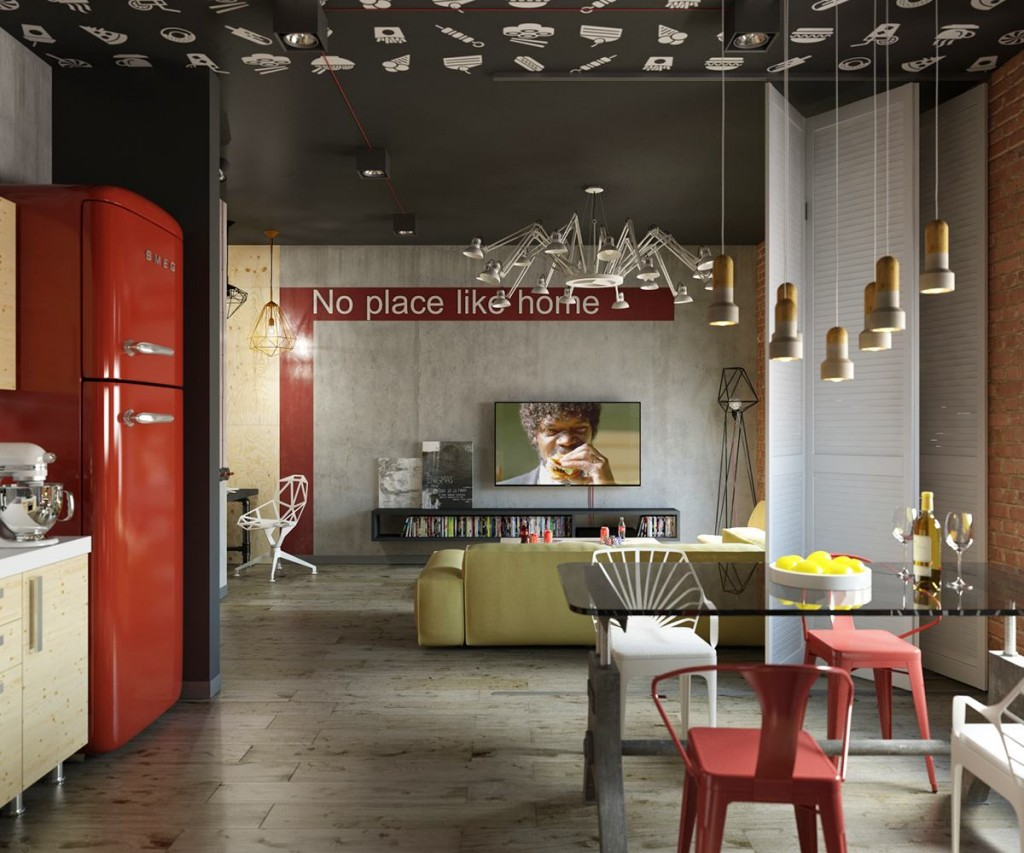b99b4b73513d0 3 Stylish Modern Homes With Dark Red Accents