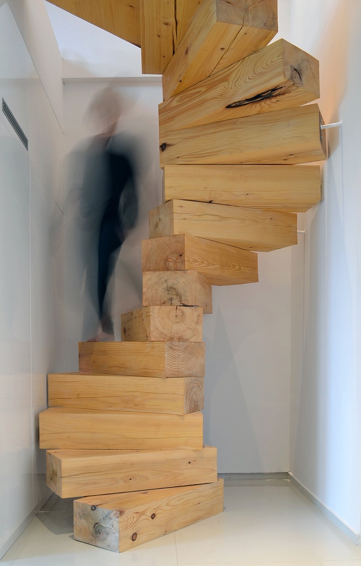 25 unique staircase designs to take center stage in your home. Black Bedroom Furniture Sets. Home Design Ideas