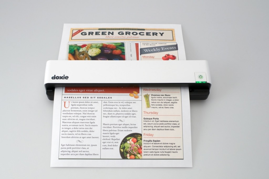 Product of the week doxie smart scanner to avoid paper clutter