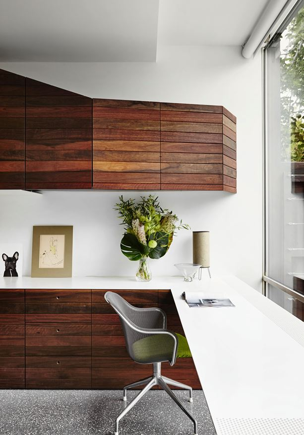 Architectural office desk an open home that challenges monolithic architecture