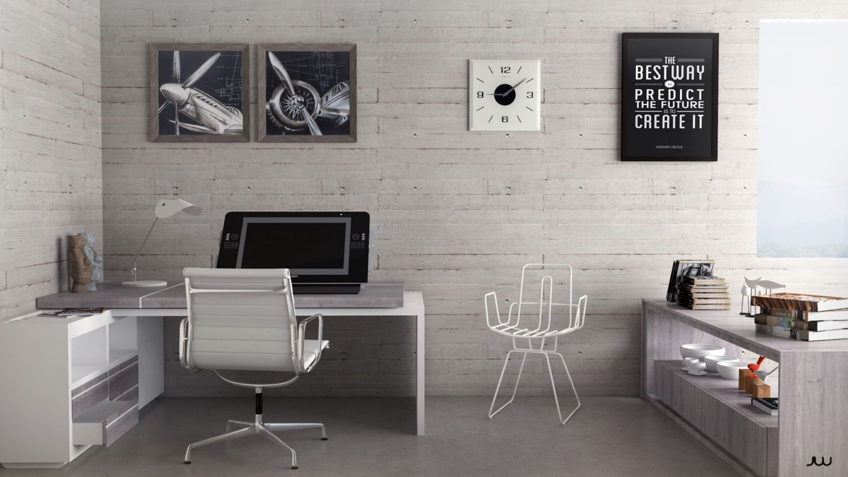 Refresh Your Worke With Ideas From These Inspiring Offices  U003e Source. Aviation  Decor For Office