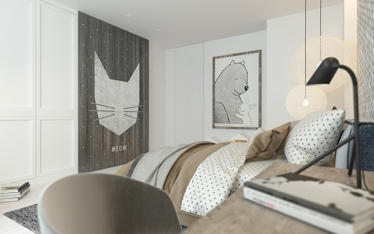 modern themed bedroom a pair of childrens bedrooms with sophisticated themes 12635