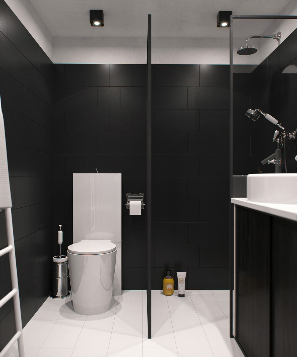 Dark Wood Floor Bathroom Ideas