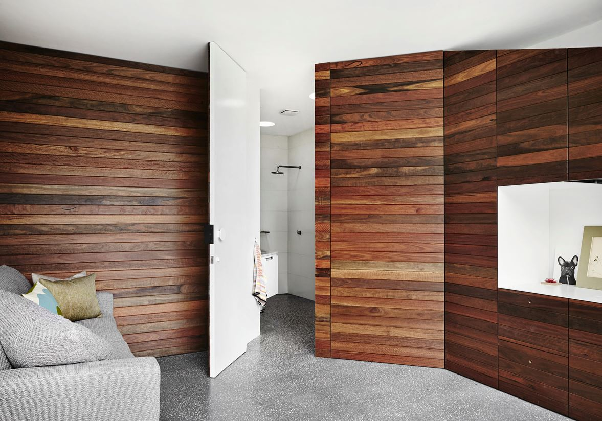 wood paneling for walls an open home that challenges monolithic architecture 29505