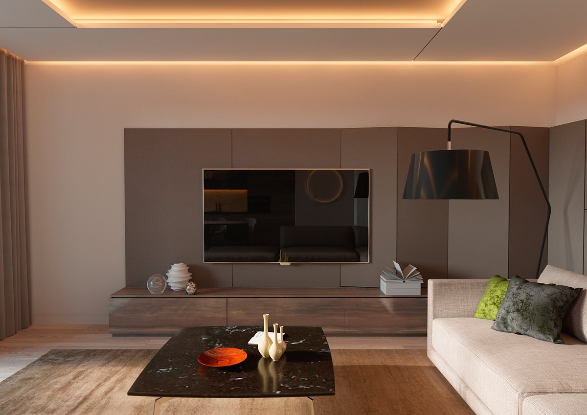 lighting apartment no ceiling lights 5 ideas for a one bedroom apartment with study includes 9006