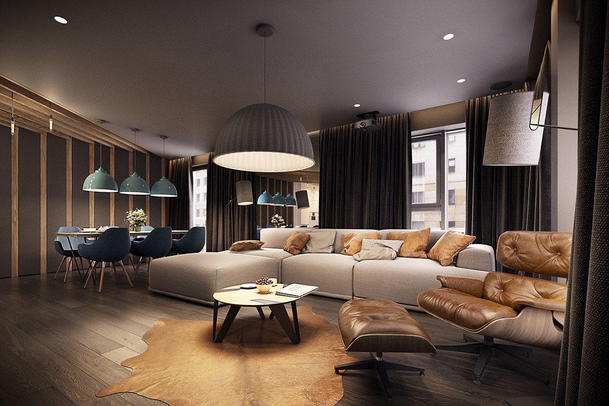 Dramatic interior architecture meets elegant decor in for Arredamento e design interni
