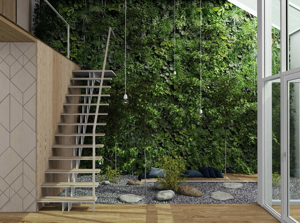 Two Homes That Celebrate Greenery Indoors