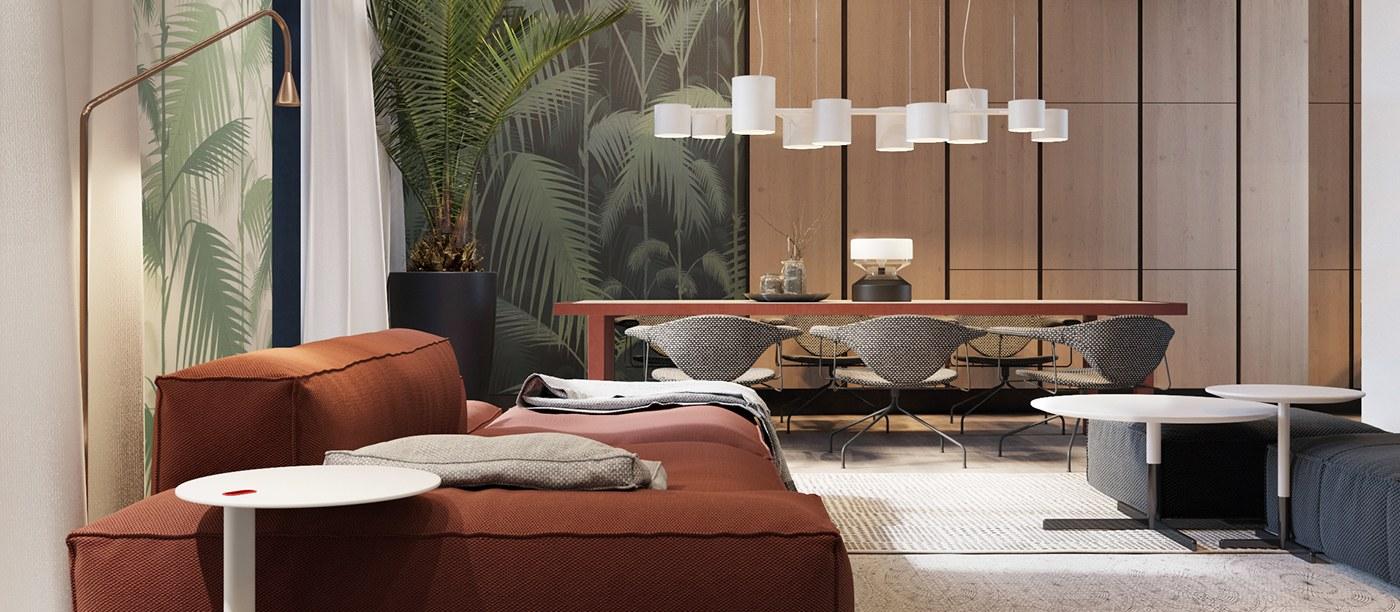 digital home design.  Luxurious Inspiring Penthouses
