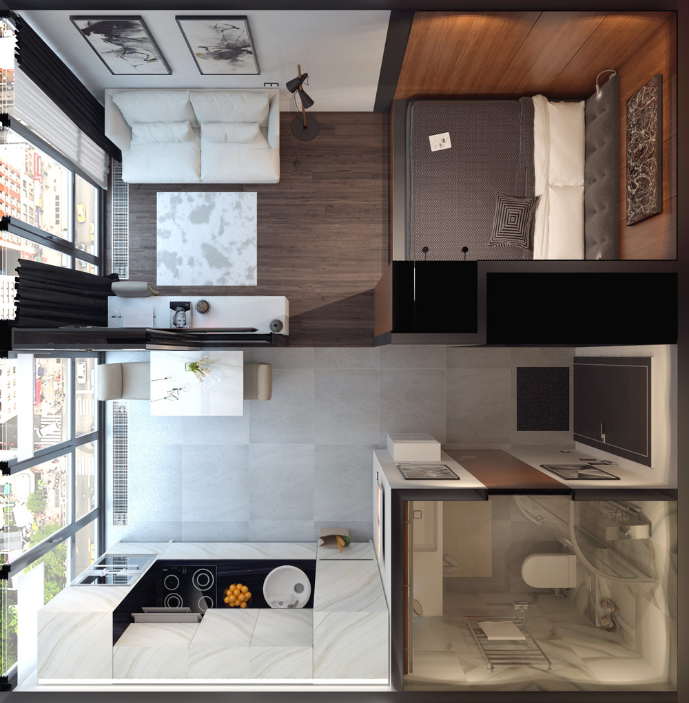 3 Small Spaces Packed With Big Style (Includes Floor Plans
