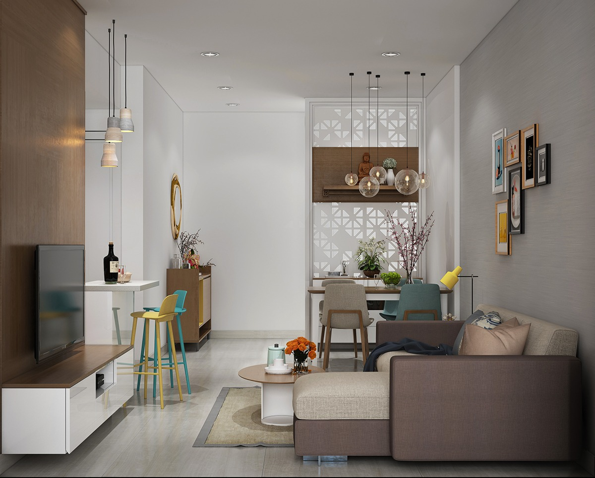 How To Make A Small Living Room Look Bigger 5 Stylish Amp Organized Mini Apartments