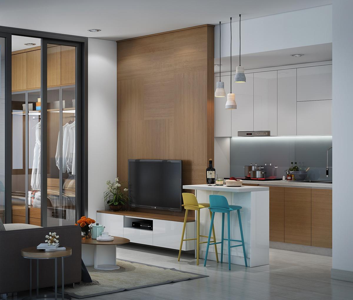 5 stylish   organized mini apartments