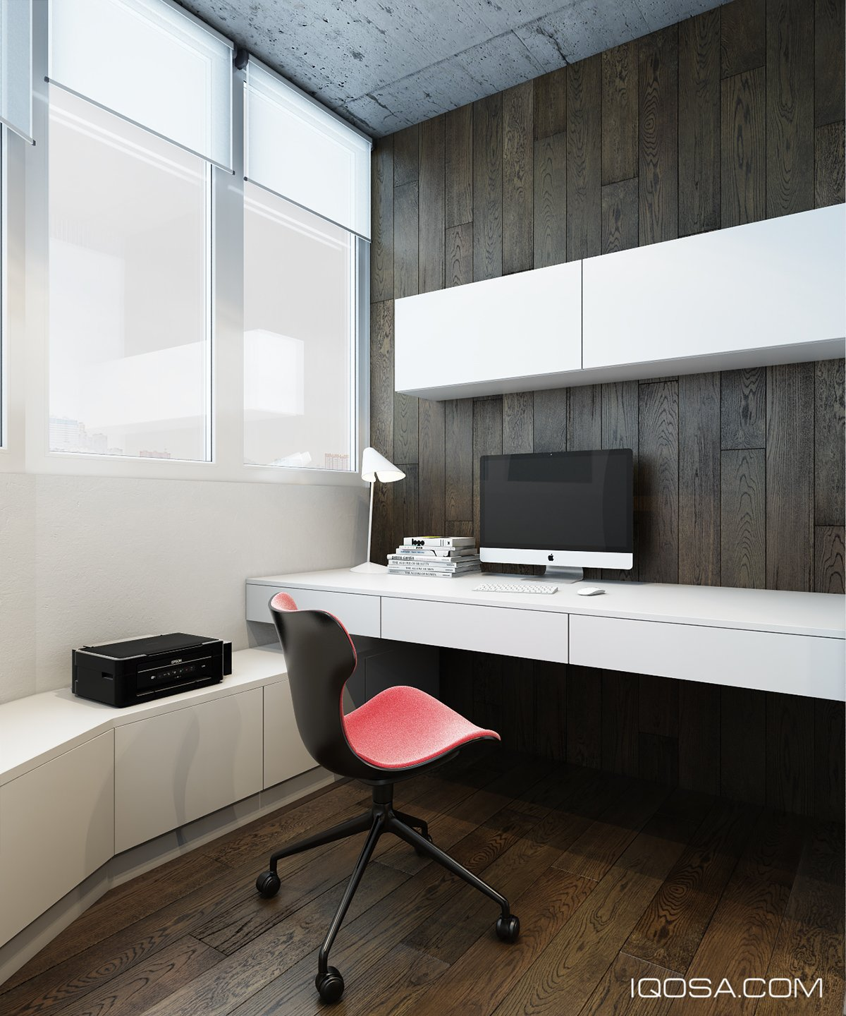 Modern Wood Accent Wall: Design A Chic Modern Space Around A Brick Accent Wall