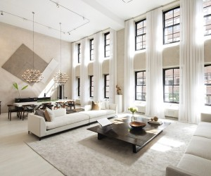 luxury home interior designs. Two Sophisticated Luxury Apartments In NY  Includes Floor Plans Apartment Interior Design Ideas Part 4
