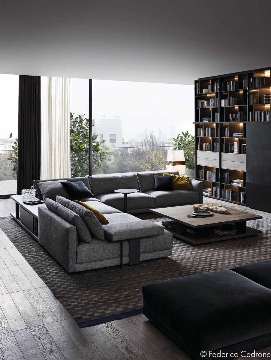 Luxurious Living Room: Two Inspiring Luxury Homes: One Ornate, One Refined