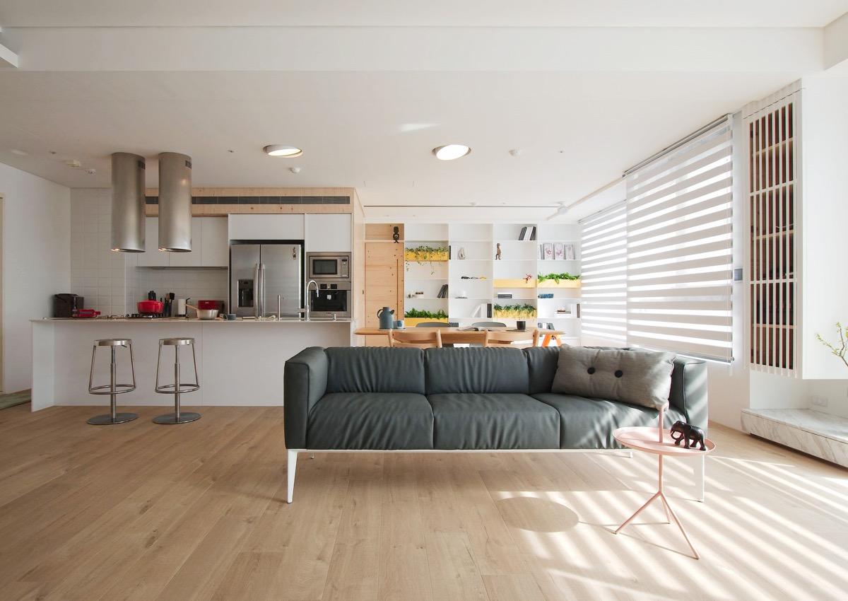 A Minimalist Family Home Design That Doesn't Sacrifice Fun