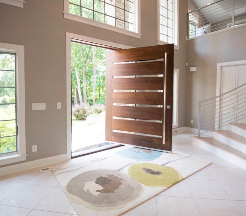 Front Entrance Home Design: 50 Modern Front Door Designs