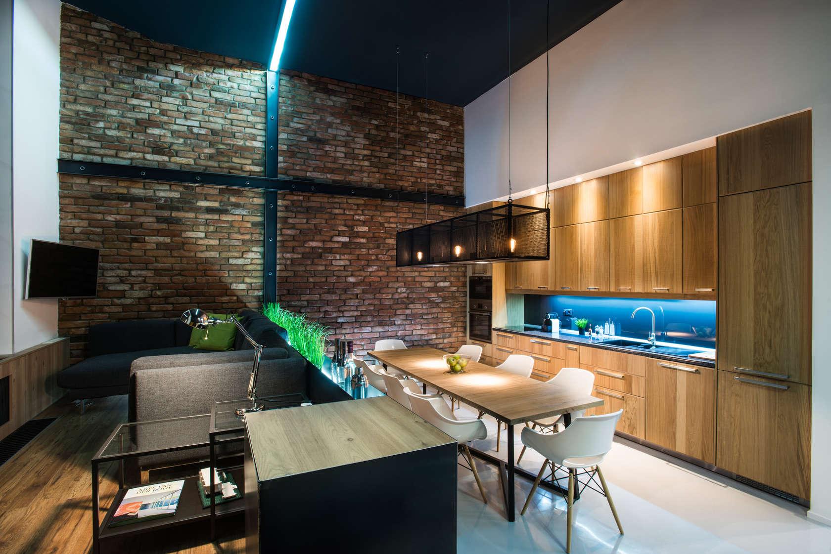 Modern Loft With Surprising Elements