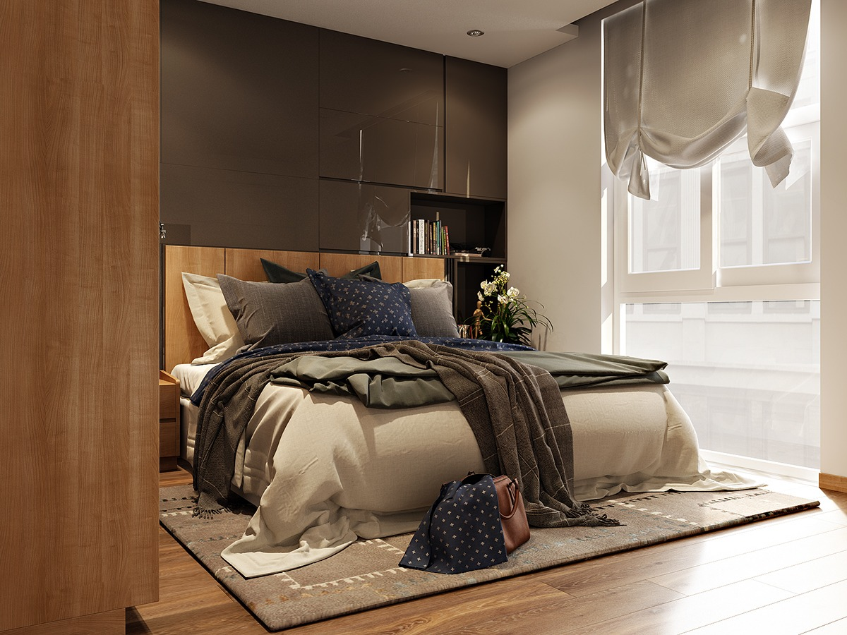 Sophisticated small bedroom designs - Small bedroom bed ideas ...