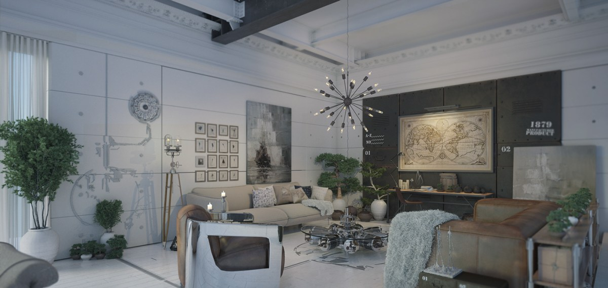 Dont be afraid of the dark 4 lovely homes with strong grey accents