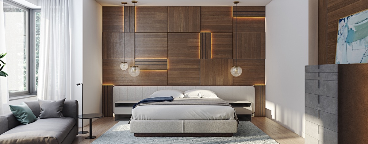 Amazing wood panneling 6 master suits to inspire you
