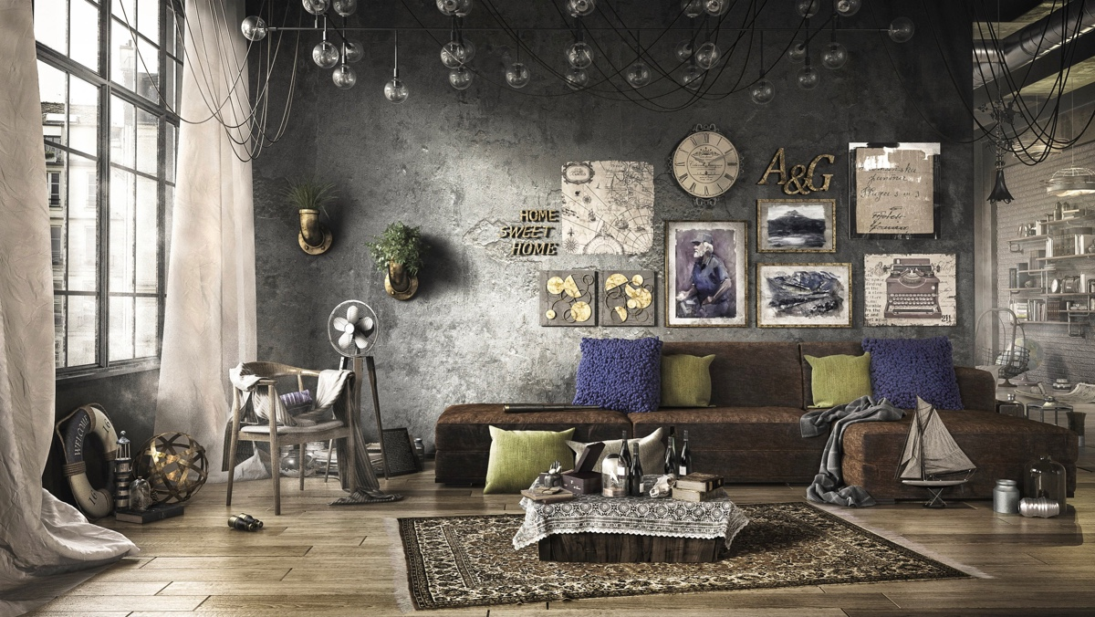 27 visualizer amer farah this loft is super eclectic
