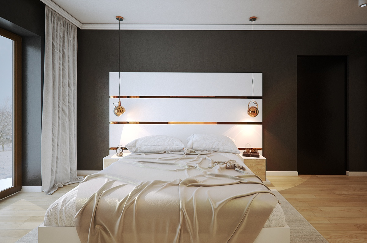 black bedroom ideas fabulous that will inspire modern with ...